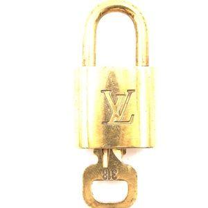 Lock Keepall Speedy Alma Brass and Key Set #318